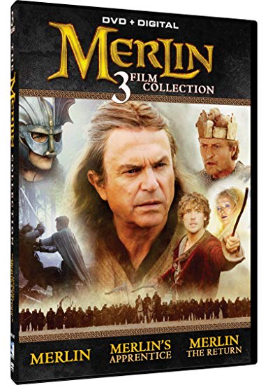 Merlin: 3 Film Collection (Digital) [DVD]