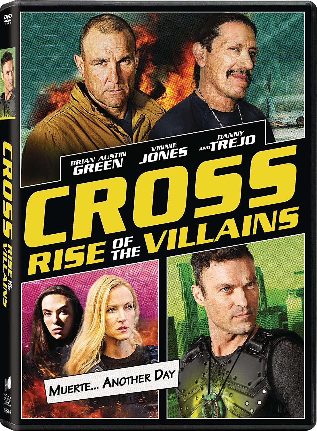 Cross: Rise Of The Villains [DVD]