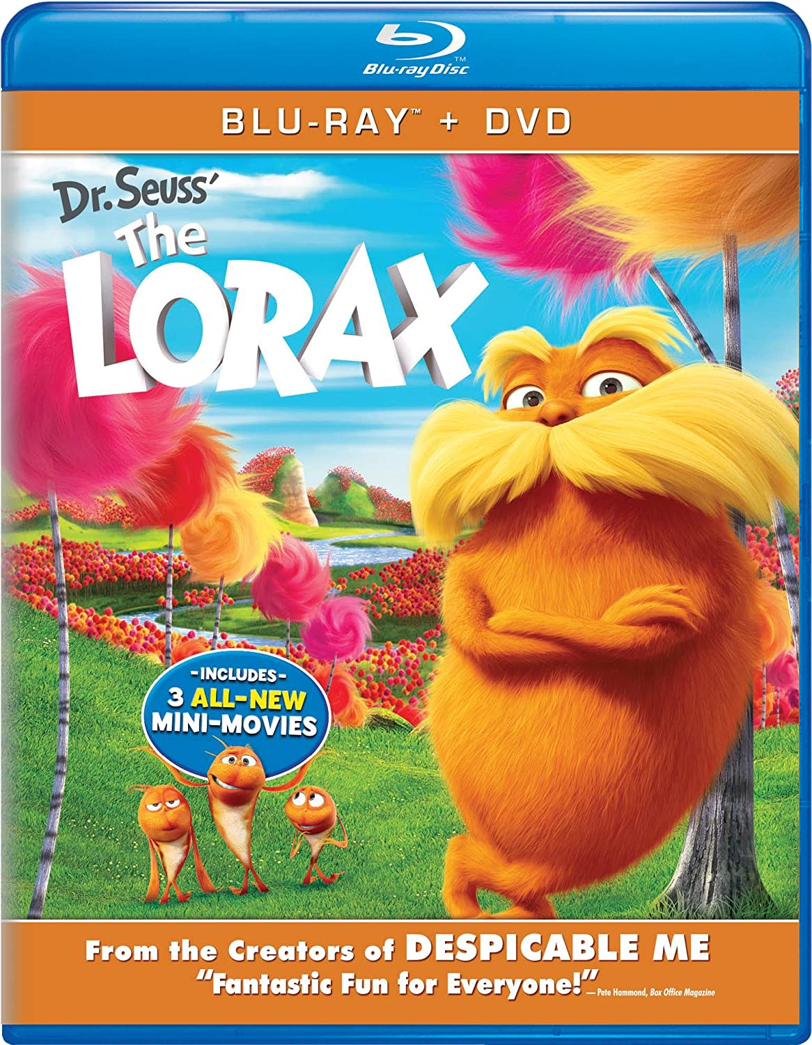 The Lorax (DVD + Digital) [Blu-ray]