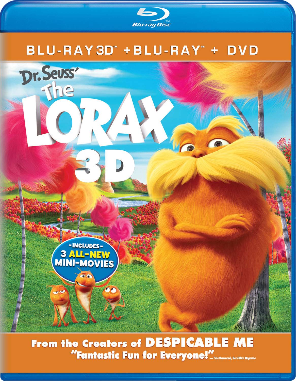 The Lorax 3D (DVD + Digital) [Blu-ray]