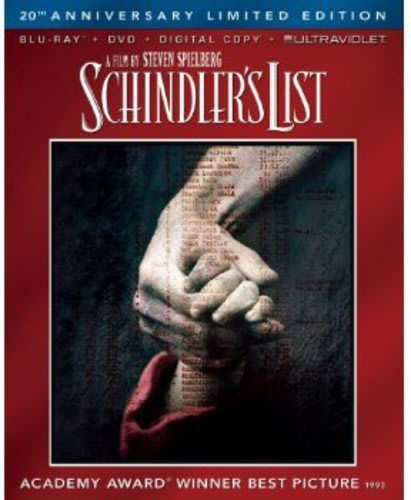 Schindler's List (20th Anniversary Edition) [Blu-ray]