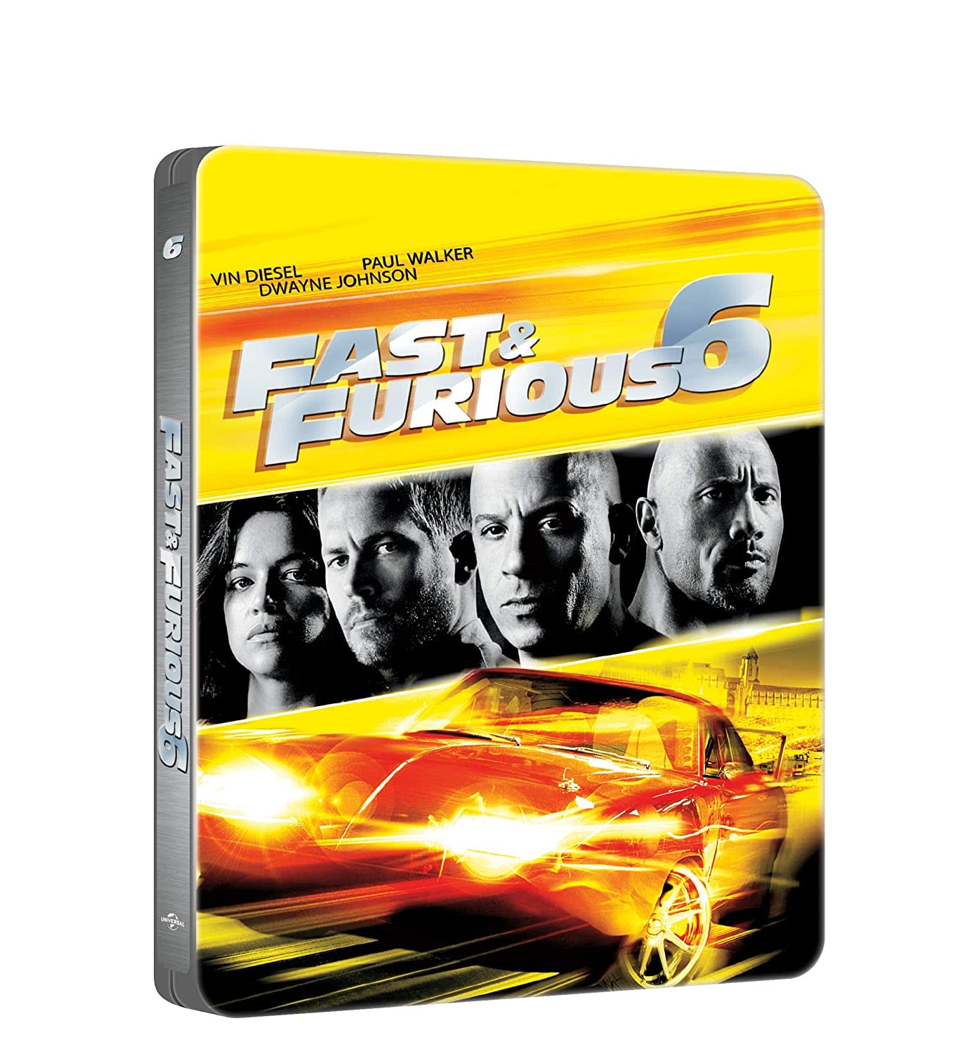 Fast & Furious 6 (with DVD Steelbook) [Blu-ray]