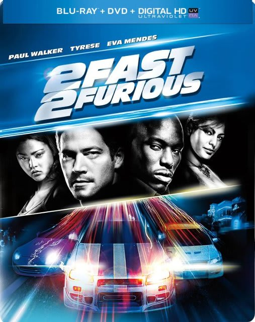 2 Fast 2 Furious (Steelbook) [Blu-ray]