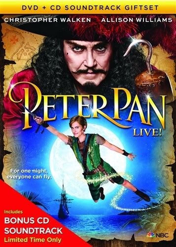 Peter Pan Live! (DVD & CD Gift Set) [DVD]