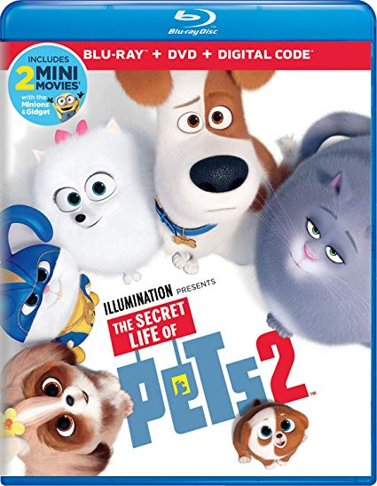 The Secret Life of Pets 2 (DVD + Digital) [Blu-ray]