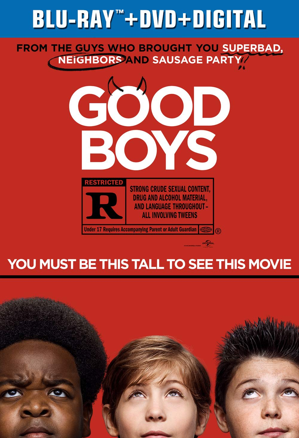 Good Boys (DVD + Digital) [Blu-ray]