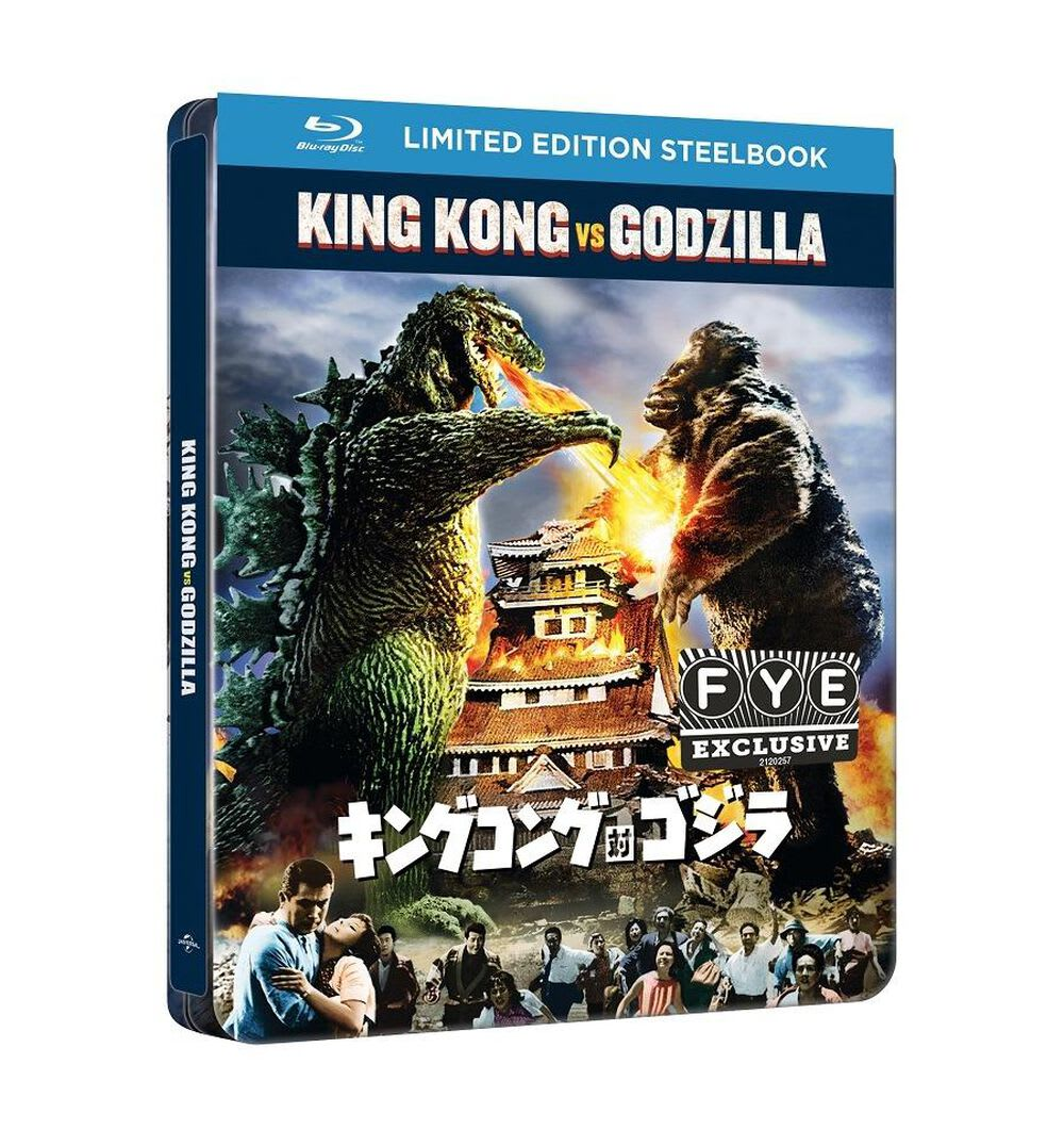 King Kong vs. Godzilla (Limited Edition Steelbook) [Blu-ray]