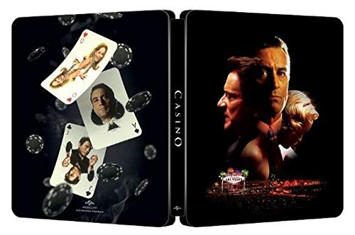 Casino (Steelbook 4K Ultra HD + Digital) [UHD]