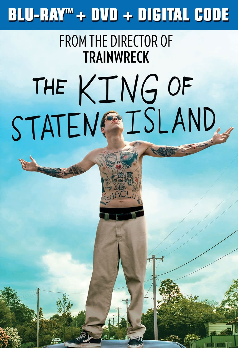 The King of Staten Island (DVD + Digital) [Blu-ray]