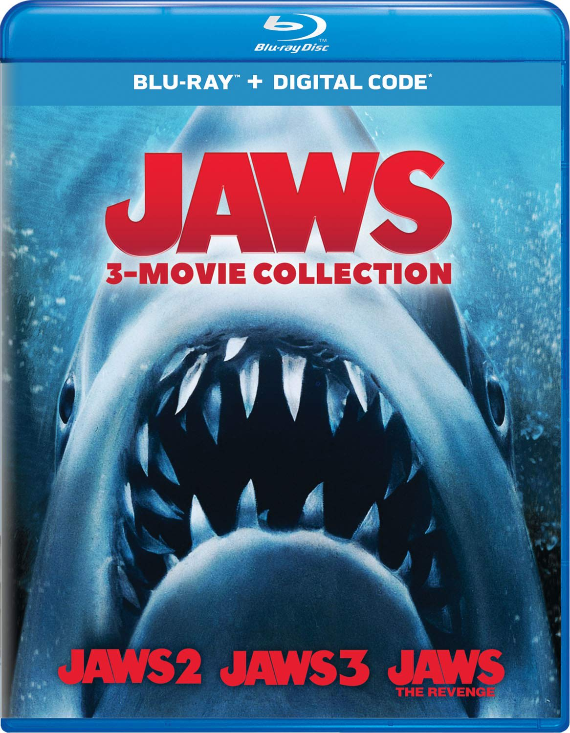 Jaws 2/Jaws 3/Jaws: The Revenge [Blu-ray]