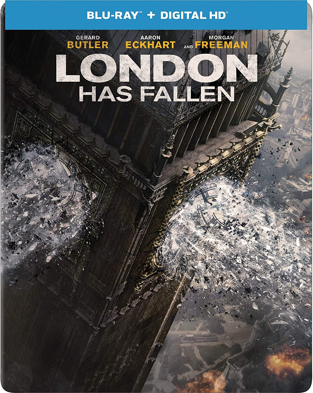 London Has Fallen (Limited Edition Steelbook) [Blu-ray]