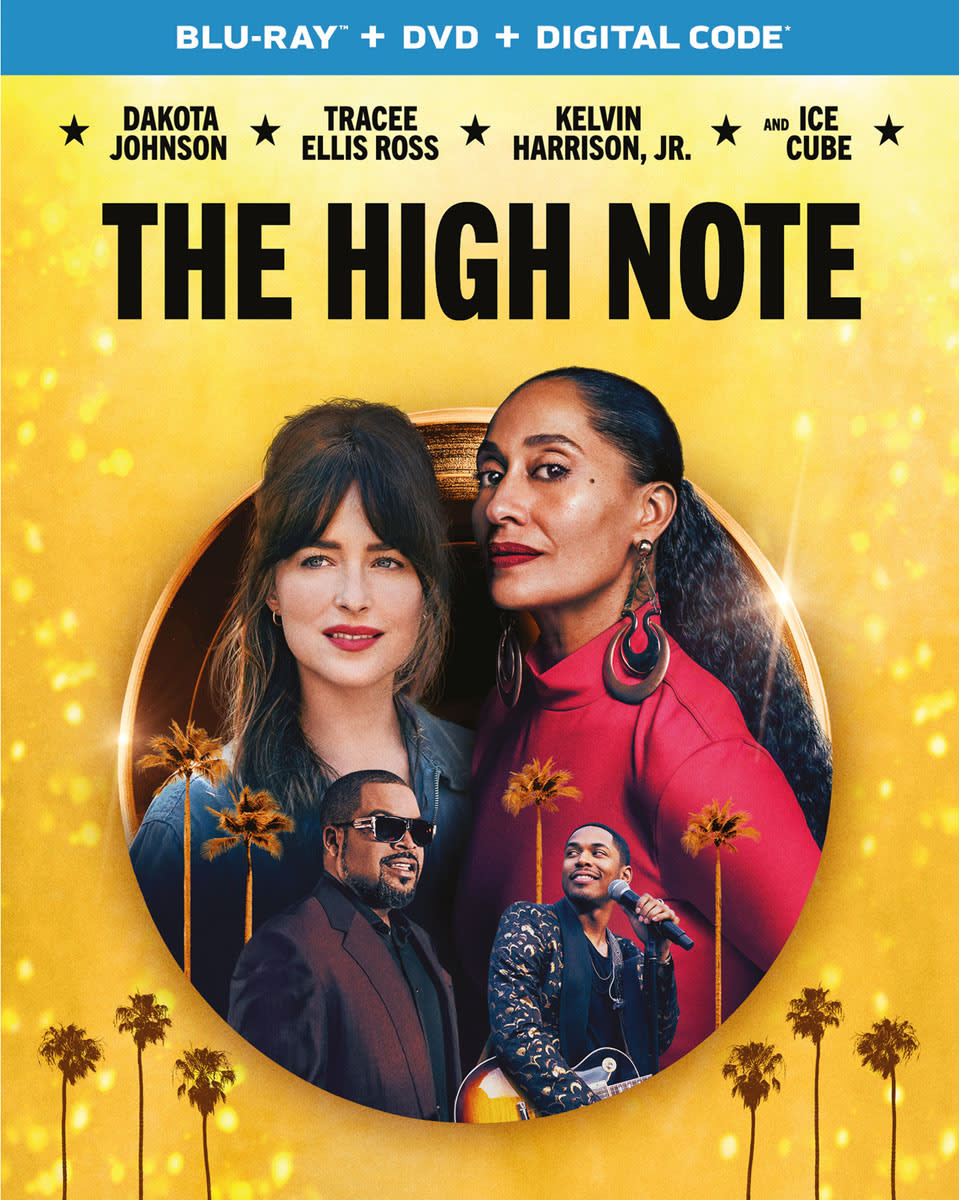 The High Note (DVD + Digital) [Blu-ray]