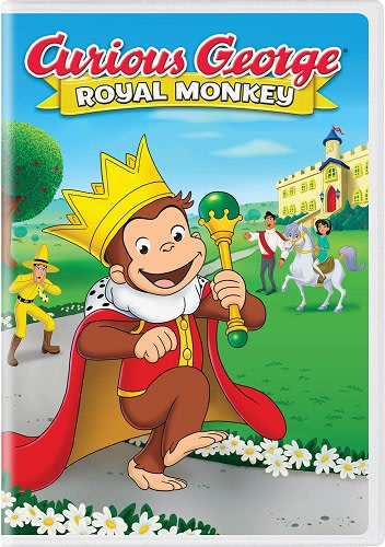 Curious George: Royal Monkey [DVD]