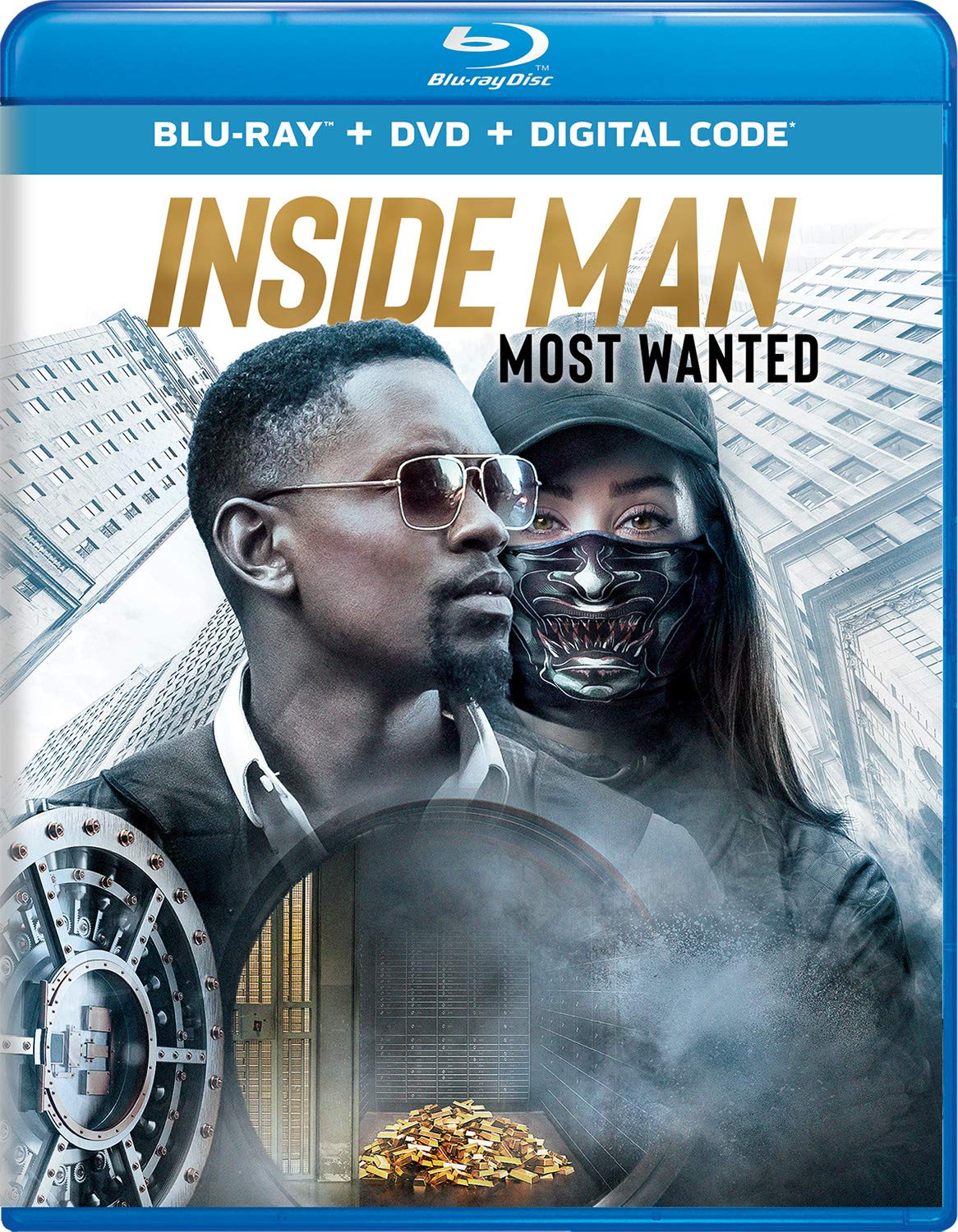 Inside Man: Most Wanted (DVD + Digital) [Blu-ray]
