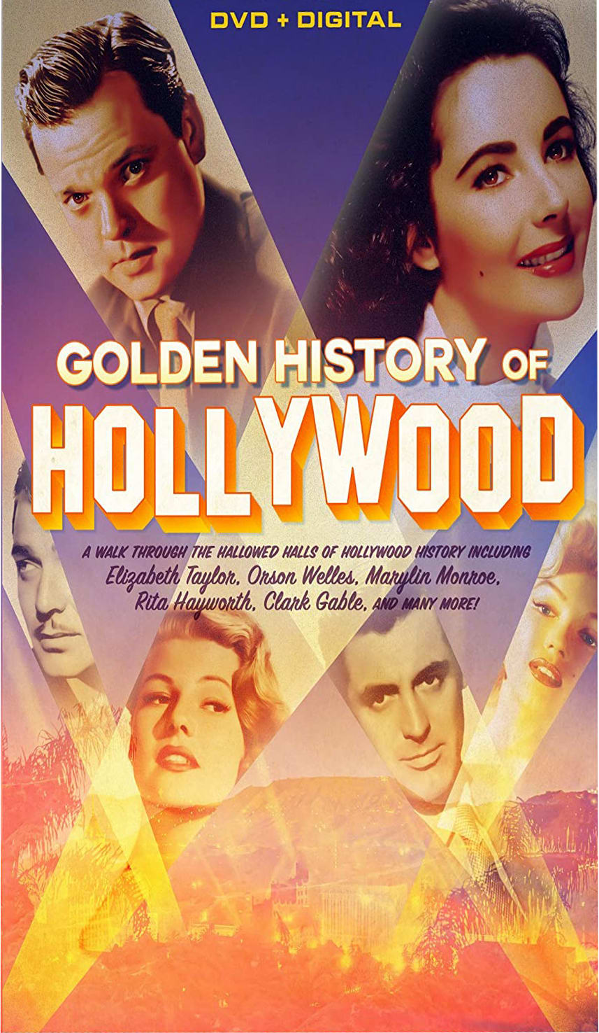 Golden History of Hollywood + Digital [DVD]