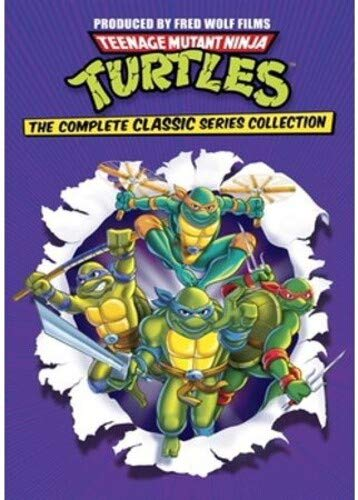 Teenage Mutant Ninja Turtles Complete Classic Series Collection [DVD]
