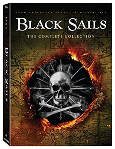 Black Sails Season 1-4  Complete Collection  [DVD]