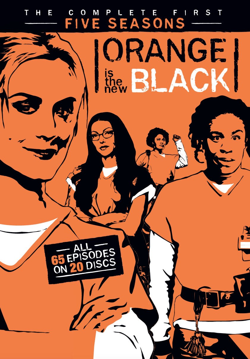 Orange Is The New Black: Seasons 1-5 [DVD]