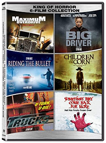 King of Horror: 6 Film Collection [DVD]