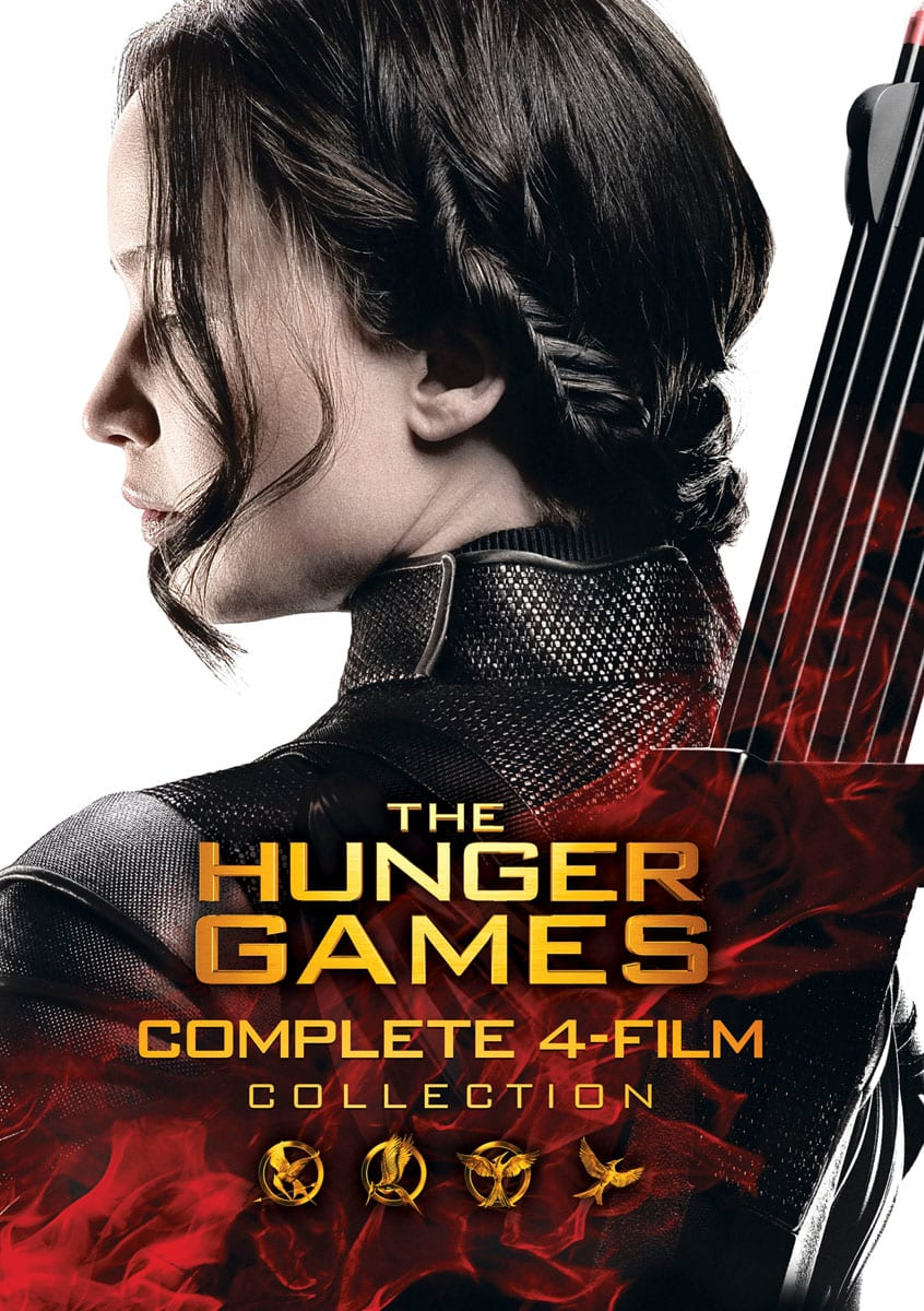 The Hunger Games: Complete 4 Film Collection [DVD]
