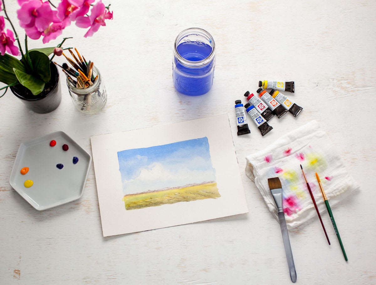 Startup Library: Watercolor Painting: Kateri Ewing [DVD]
