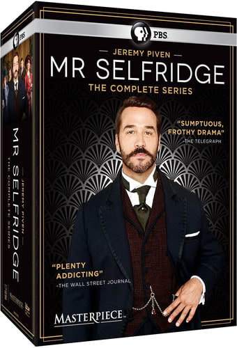 Masterpiece: Mr. Selfridge - The Complete Series (2016) [DVD]
