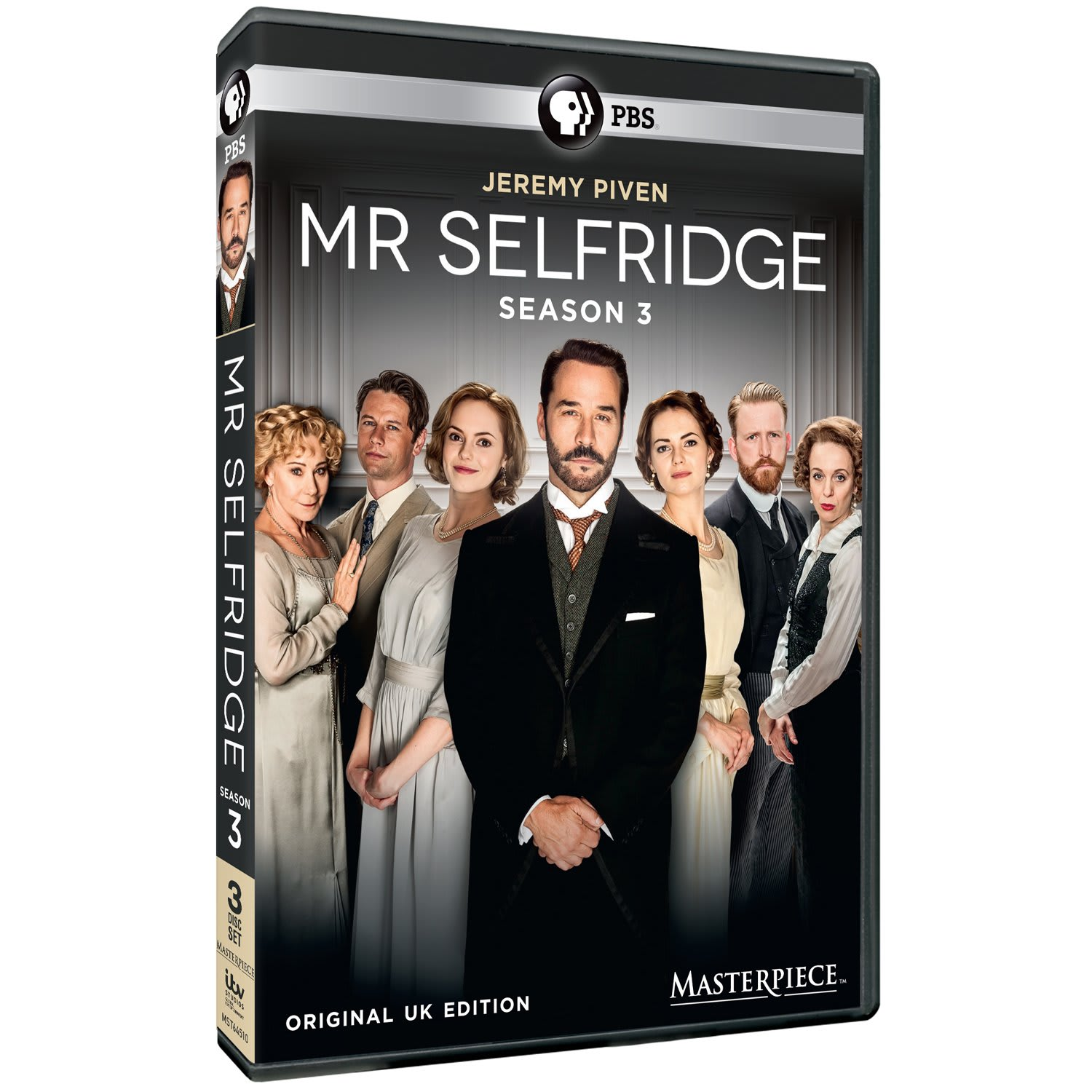 Masterpiece: Mr. Selfridge - Season 3 [DVD]