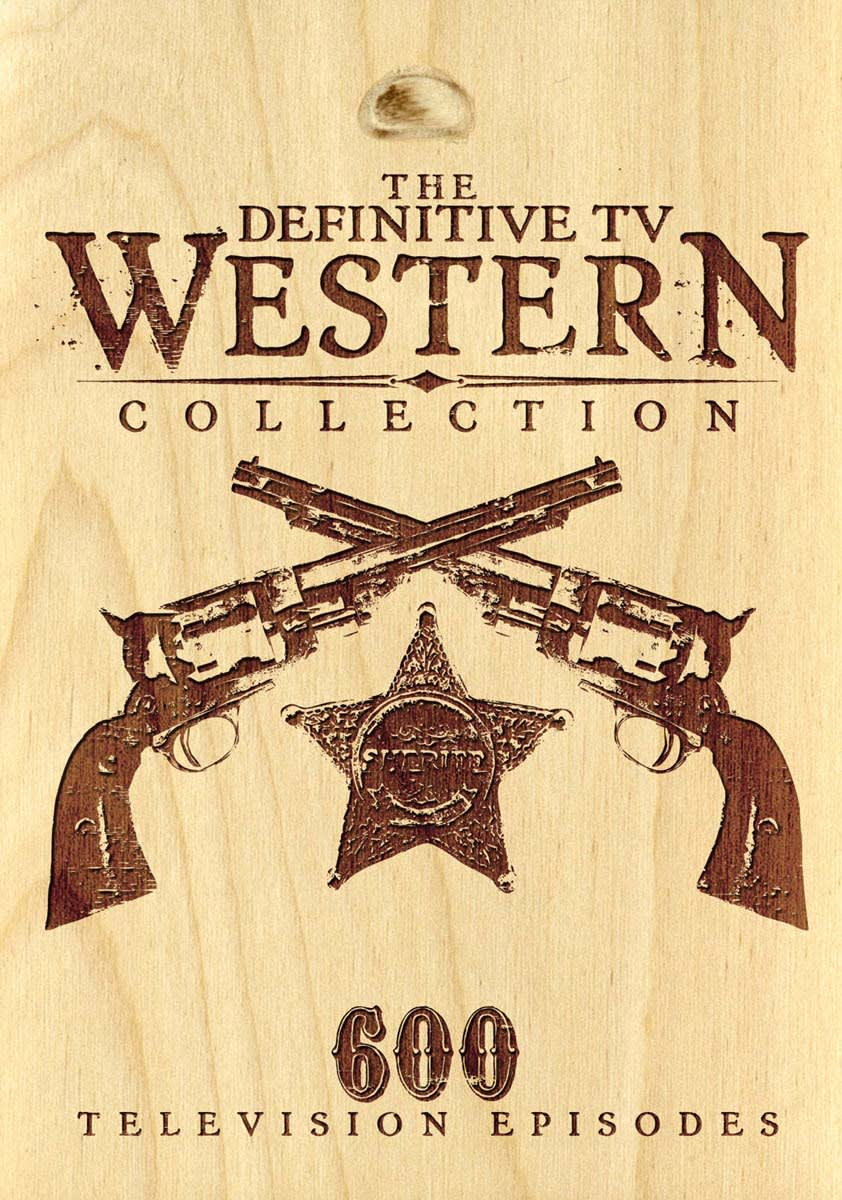 Definitive TV Western Collection - 600 Episode Set [DVD]