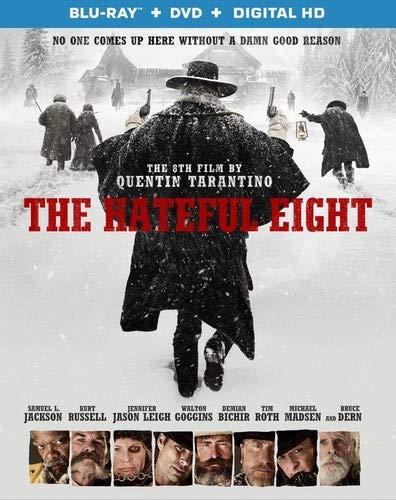 The Hateful 8 (DVD + Digital) [Blu-ray]