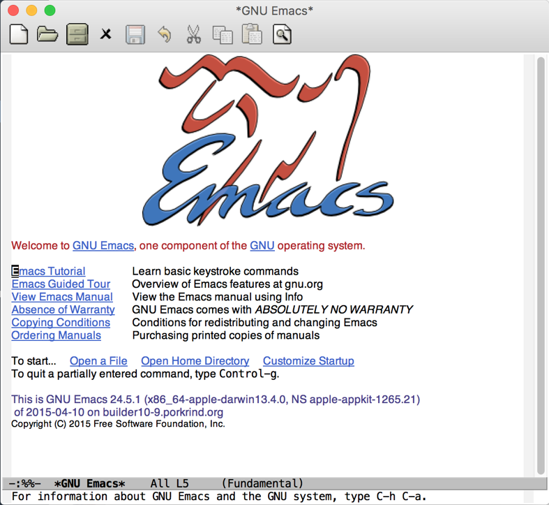 Emacs load file