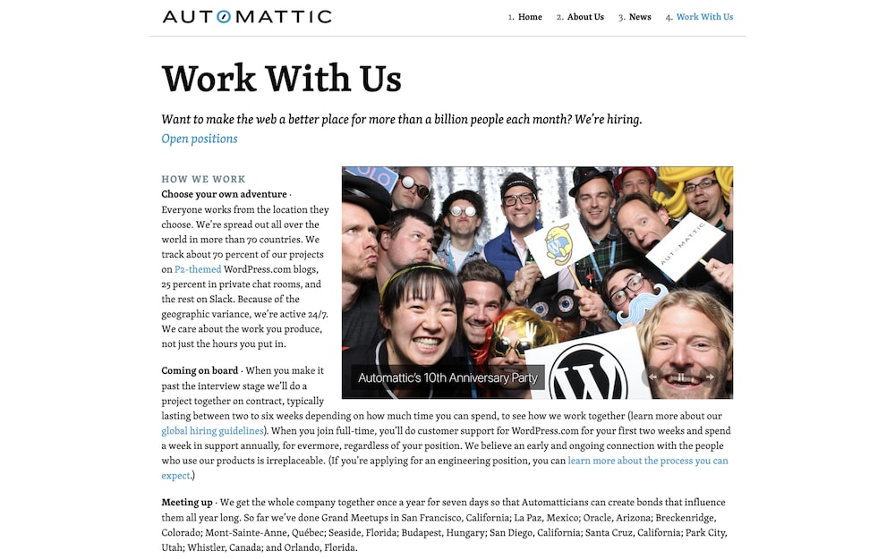 Careers at Automattic
