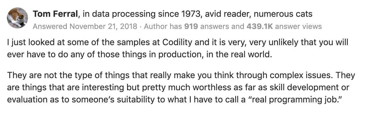 Codility Review