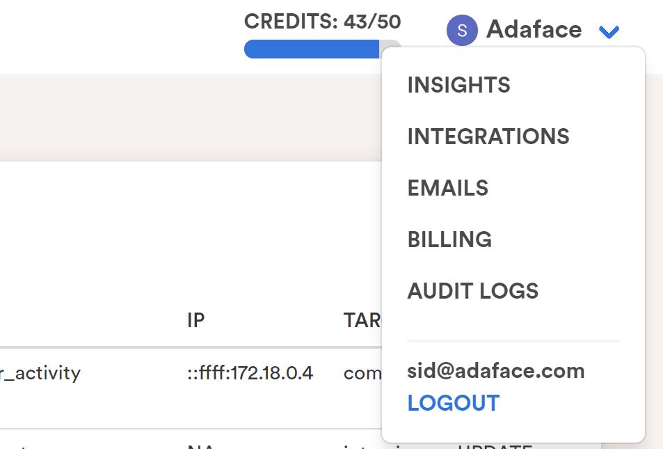 Viewing audit logs