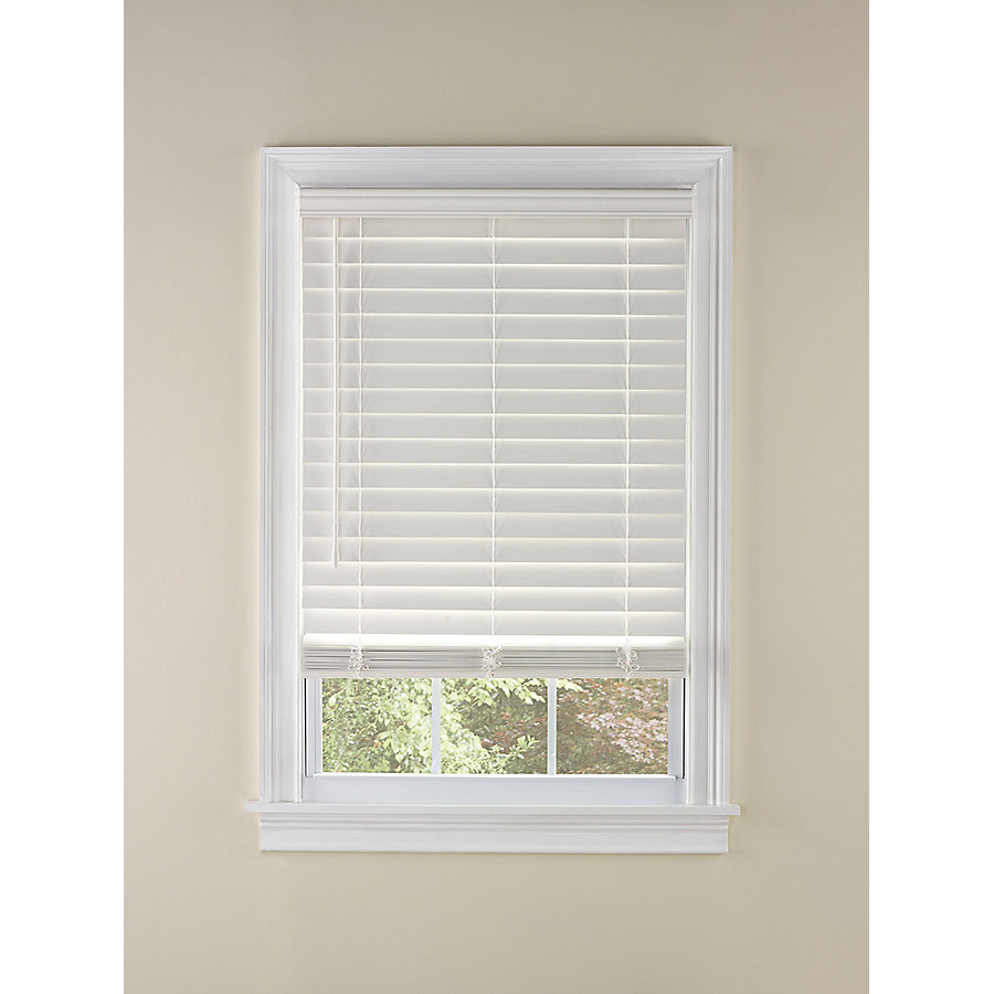 Cordless 2 Inch Faux Wood Blinds.Details About Levolor 1913789 2 In Cordless White Faux Wood Plantation Blinds