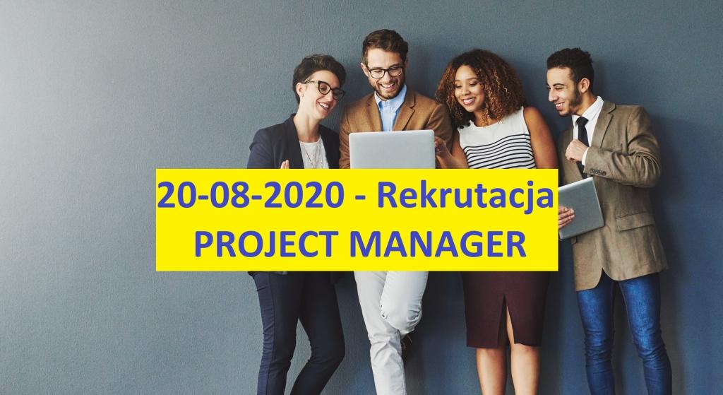 Rekrutacja - Project Manager