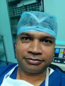 Dr. Manish Kumar, neurosurgeon