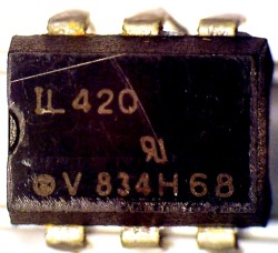 Photocoupler Vishay IL420 Failure Analysis
