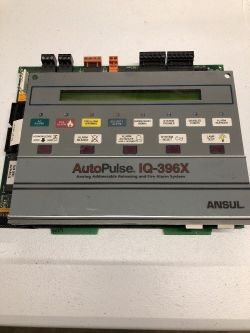 Premature Discharge of Ansul IQ-396X Fire Circuitry