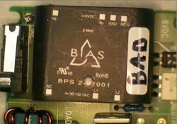Failed Bias BPS2-07001 Power Supply