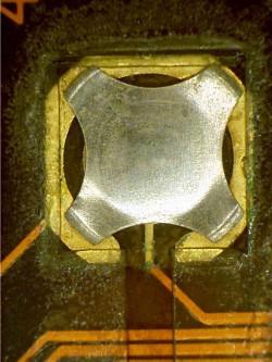 Polyimide Silicone Adhesive Contamination