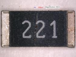 Vishay CRCW2512220RJNEG Thick Film Chip Resistors