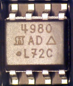 Siliconix Si4998DY MOSFET