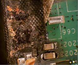 Fire on Multilayer PCB