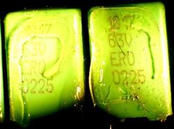 Vishay MKT 1917 Film Capacitor Failure Analysis
