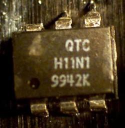 Optocoupler Fairchild QTC H11N1 Failure Analysis
