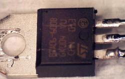 ST Microelectronics BTA06 Triac Failure Analysis