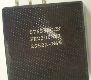 07639SOCN FK230003P1 26522-N45 transformer