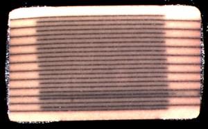 C2 abnormal electrode spacing