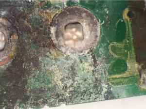 SEM-EDS of corrosion