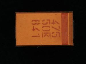 Good capacitor measuring 4.7 uF at 50V
